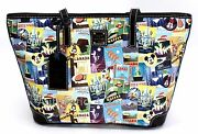 New Disney Dooney And Bourke 2016 Epcot Food And Wine Festival Shopper Tote Purse 2
