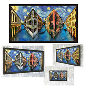 Reverspective Reverse Perspective Poster Venice Night Wall Art Picture Illusion