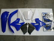 Plastic And Sticker Kit Fits Yamaha Yz125 2013 2014 Restyle To 2015 On
