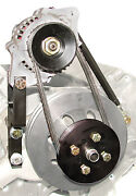 S/b Chevy Denso 60 Amp Mini One Wire Alternator Kit For Long Water Pump 1622