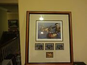 Robert Steiner 1999 California Duck Stamp Print Governors Edition