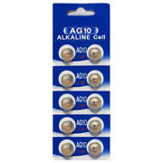 Ag10 1.5v Lr1130 389 Button / Coin Cell Watch Batteries