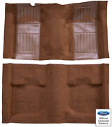71-73 Ford Mustang Mach I W/ginger Running Pony Inserts Nylon Replacement Carpet