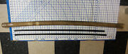 Nos Steechan 40-57 Gm Buick Cadillac Olds Chevy Glass Run Felt Channel Door 50and039s