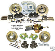1967-69 Mustang Complete Kelsey-hayes Style Disc Brakes