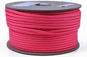 Think Pink - 250 Feet Spool Bored Paracord Brand 550 Type Iii Paracord