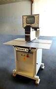 Bieffebbi Italy Precision Video Punch System Model 420 Very Good Condition.