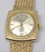 14kt Yellow Gold Angelus Womenand039s Vintage Watch 87283-1pc
