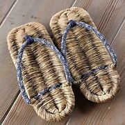 Japanese Bamboo Sandals Setta Zori Bamboo Us Size 8 Free Shipping With Tracking