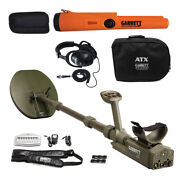 Garrett Atx Pulse Induction Metal Detector With Pro Pointer At Pinpointer