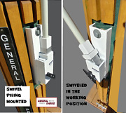 Mooring Whips Swivel Piling Mount Boats To 40and039 Poles 14and039 X 1 Class 20000lbs