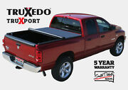 Truxedo Truxport Roll-up Tonneau Cover Fits Titan Xd 5and0397 Bed W/ Cargo Rail