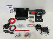 Yamaha Grizzly 450 4x4 Quadboss 2500lb Winch And Mount Dyneema Rope 2009-2014