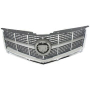 10 11 12 Srx Grill Grille Assembly Chrome Frame Silver Insert Gm1200629 25778321