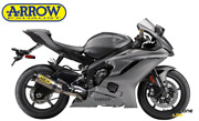 Full Exhaust System Arrow Competition Full Titanium Yamaha Yzf R6 17 20 Racing