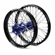 Sherco Se-r 250 2t 2014 2015 2016 2017 Wheels Set Blue Black 18 21 Wheel Rims