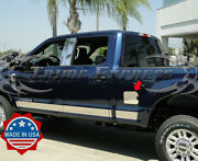2017-2021 Ford Super Duty F-250 Gas Cap Door Cover Accent Trim Stainless Steel