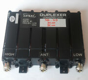Duplexer 66-88mhz Vhf 6 Cavity Sq 50w For Radio Repeater N Connector