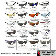 Jackson Nemesis Safety Glasses Sunglasses Sport Work Eyewear Ansi Z87 Compliant
