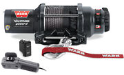 Warn Vantage Utv 4000s Winch W/mount Honda 700 Muv Big Red 09-13