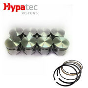 Flat Top Piston And Ring Set +060 For Holden 308 Red 5044cc 5.0 V8 1969-1985