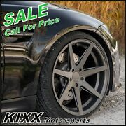 19 Rohana Rc7 19x8.5 19x9.5 Graphite Concave Wheels For Ford Mustang Gt Gt500
