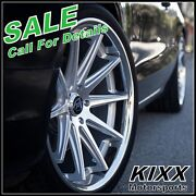 20 Rohana Rc10 20x9 20x10 Silver Concave Wheels For Audi A7 S7