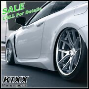 20 Ferrada Fr2 20x9+35 20x10.5+38 Silver Concave Wheels For Cadillac Cts-v Coupe