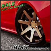 20 Ferrada Fr1 20x9 20x10.5 Bronze Concave Wheels For Ford Mustang Gt