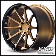 20 Ferrada Fr4 20x9/10.5 Bronze Concave Wheels For Ford Mustang Gt Gt500