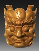 Nuo Mask --- The Ancient Chinese Religious Ritual Wood Mask Art Work
