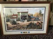 Precious Metals By Ken Zylla 1950and039s Cars Indian Motorcycle Repair Shop Jeep Bus
