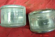 1951 Chrysler Deluxe Reverse Lights Pair Desoto Plymouth Dodge