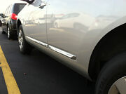 New Oem 2008-2013 Nissan Rogue 4 Pc Chrome Body Side Moldings Factory