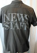 Vintage Huey Lewis And The News Signed Shirt 1980s