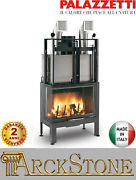 Fireplace Wood Air Natural Ducted Palazzetti 78 Left Sx Easy Line 24 Kw