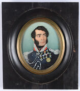 Andrea Piazza Officer Of Spanish Reales Guardias Del Cuerpo Listed Miniature