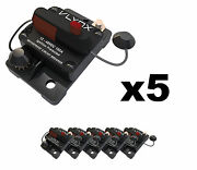 Qty5 Vcb150 Automotive 12v-48v 150 Amp Resettable Thermal Fuse Circuit Breaker