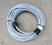 75' 10/3 Grey Power Cable Cord For All 220v Floor Sanders W/30a 250v Plugs