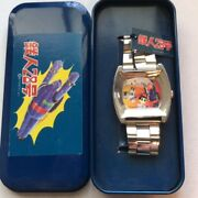 Gigantor Watch Limited 1997 Tetsujin 28 Super Rare With Certificate And Tin Case