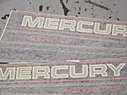 New Oem Outboard New Mercury 4stroke Decals As Shown In Picture
