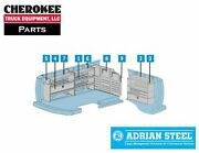 Adrian Steel 2256g General Contractor Package For Gm Long Wheelbase