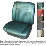 1965 Grand Prix / Parisienne Custom Sport Front Bucket And Rear Seat Covers - Pui