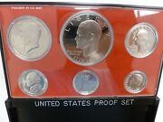 1976 S Us Mint Proof Coin Set With Toned Penny 1