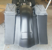 09-13 Harley Stretched Saddlebags Replacement Fender No Cutout 6 No Lids