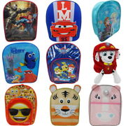 Childrens Backpack School Bags - Lots Of Designs - Boys And Girls