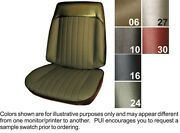 1969 Pontiac Grand Prix Front Buckets And Coupe Rear Seat Covers - Pui
