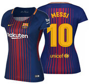 Nike Lionel Messi Fc Barcelona Womens Home Jersey 2017/18.