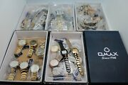 Closeout Lot Of 50 Authentic Omax Men's And Women's Watches