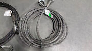 Cable Lifting Sling 3/4 Diameter 100 Ftcable Wire Rope Sling Thimble Eyes